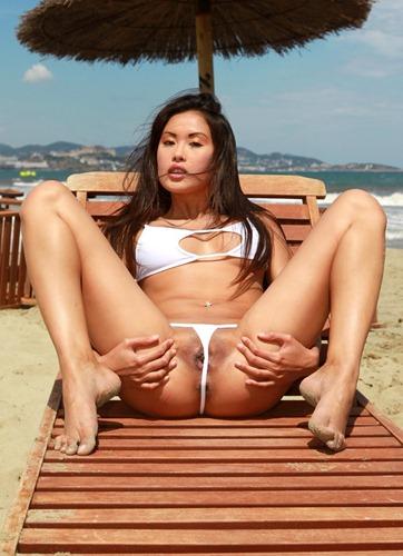 danika and her tiny bikini