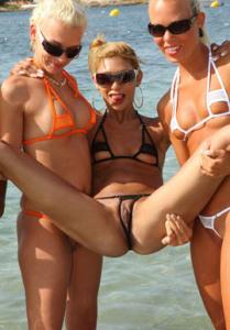 bikini dare models